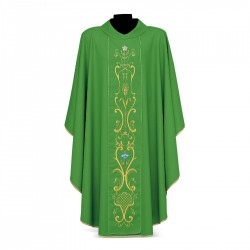 Gothic Chasuble 7080 - Green