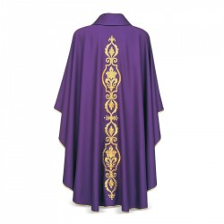 Gothic Chasuble 7087- Purple