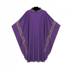 Gothic Chasuble 7091 - Purple