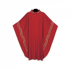 Gothic Chasuble 7092 - Red