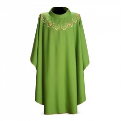 Gothic Chasuble 7093 - Green