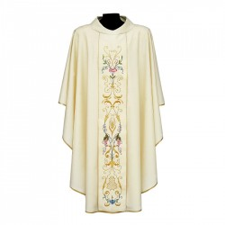 Gothic Chasuble 7094 - Cream