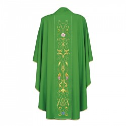 Gothic Chasuble 7095 - Green