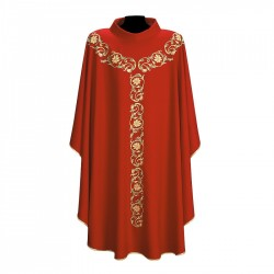Gothic Chasuble 7101 - Red