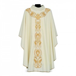 Gothic Chasuble 7102 - Cream