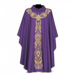 Gothic Chasuble 7104 - Purple