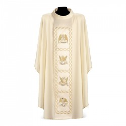 Gothic Chasuble 7106 - Cream
