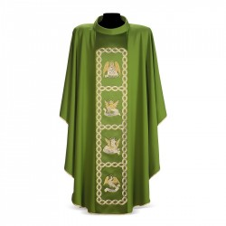 Gothic Chasuble 7107 - Green