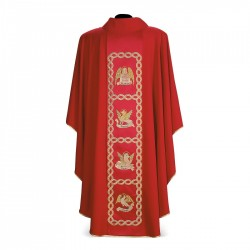 Gothic Chasuble 7109 - Red