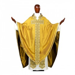 Gothic Chasuble 7115 - Gold