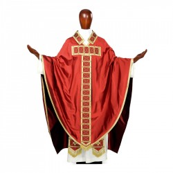 Gothic Chasuble 7118 - Red
