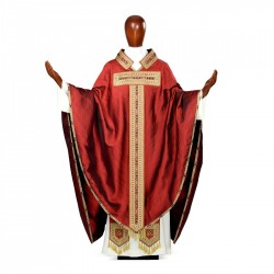 Gothic Chasuble 7124 - Red