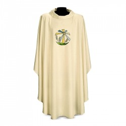 Gothic Chasuble 7134 - Cream