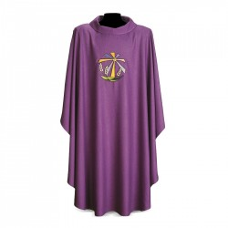 Gothic Chasuble 7136 - Purple