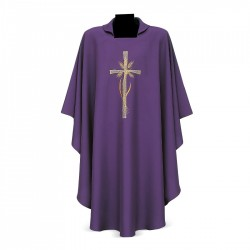 Gothic Chasuble 7140 - Purple