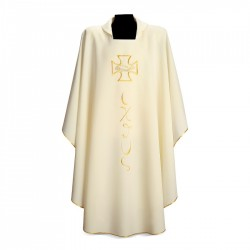 Gothic Chasuble 7142 - Cream