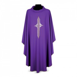 Gothic Chasuble 7148 - Purple