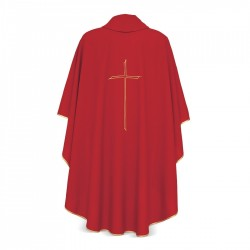 Gothic Chasuble 7154 - Red