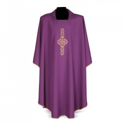 Gothic Chasuble 7157 - Purple
