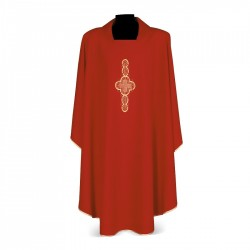 Gothic Chasuble 7158 - Red