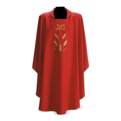 Gothic Chasuble 7162 - Red