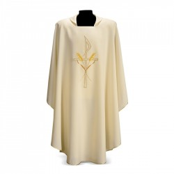 Gothic Chasuble 7163 - Cream