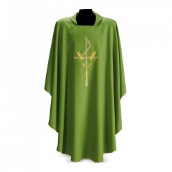Gothic Chasuble 7164 - Green