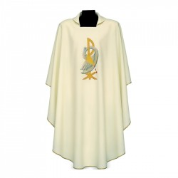 Gothic Chasuble 7167 - Cream