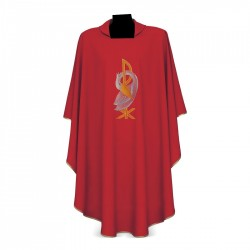 Gothic Chasuble 7170 - Red