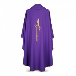 Gothic Chasuble 7173 - Purple