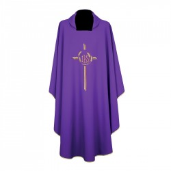 Gothic Chasuble 7177 - Purple
