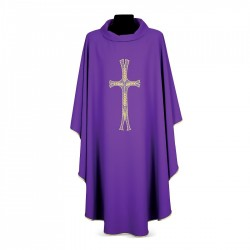 Gothic Chasuble 7181 - Purple
