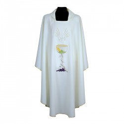 Gothic Chasuble 7184 - Cream
