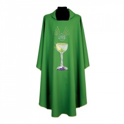 Gothic Chasuble 7185 - Green