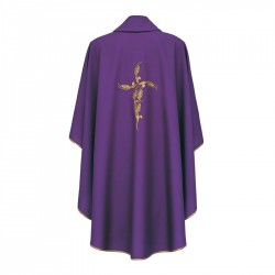 Gothic Chasuble 7190 - Purple