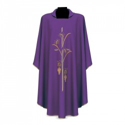 Gothic Chasuble 7198 - Purple