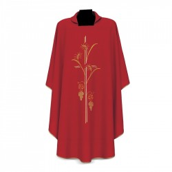 Gothic Chasuble 7199 - Red