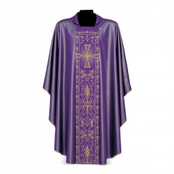 Gothic Chasuble 7202 - Purple
