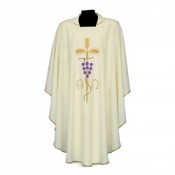 Gothic Chasuble 7208 - Cream