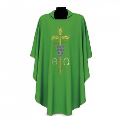 Gothic Chasuble 7209 - Green