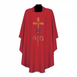 Gothic Chasuble 7211 - Red