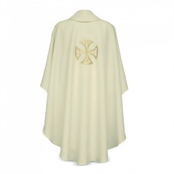 Gothic Chasuble 7212 - Cream
