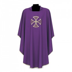 Gothic Chasuble 7214 - Purple