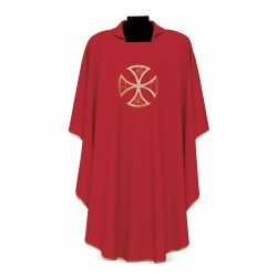 Gothic Chasuble 7215 - Red