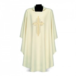 Gothic Chasuble 7222 - Cream