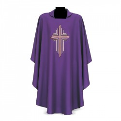 Gothic Chasuble 7224 - Purple