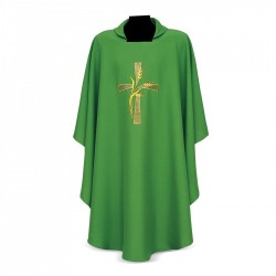 Gothic Chasuble 7227 - Green