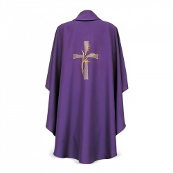 Gothic Chasuble 7228 - Purple