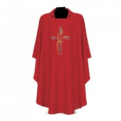 Gothic Chasuble 7229 - Red