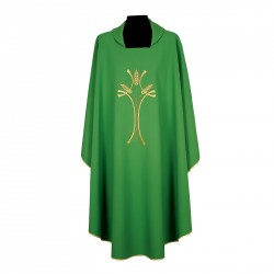 Gothic Chasuble 7237 - Green